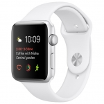 Часы Apple Watch Series 2 38mm Case with White Sport Band
