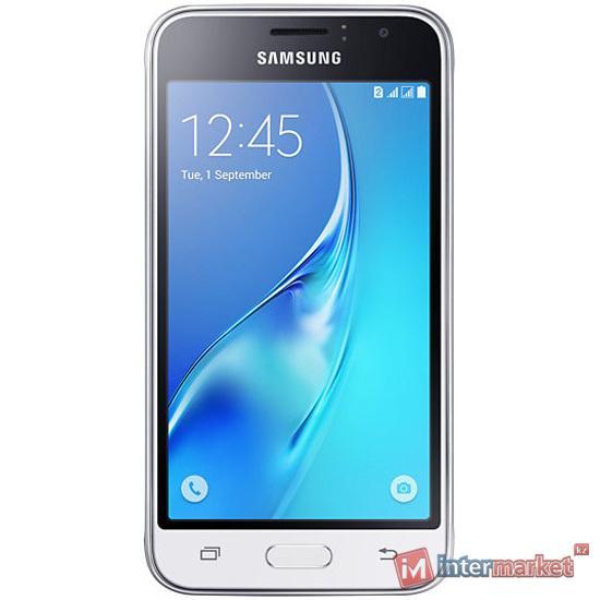 Смартфон Samsung Galaxy J1 (2016) White