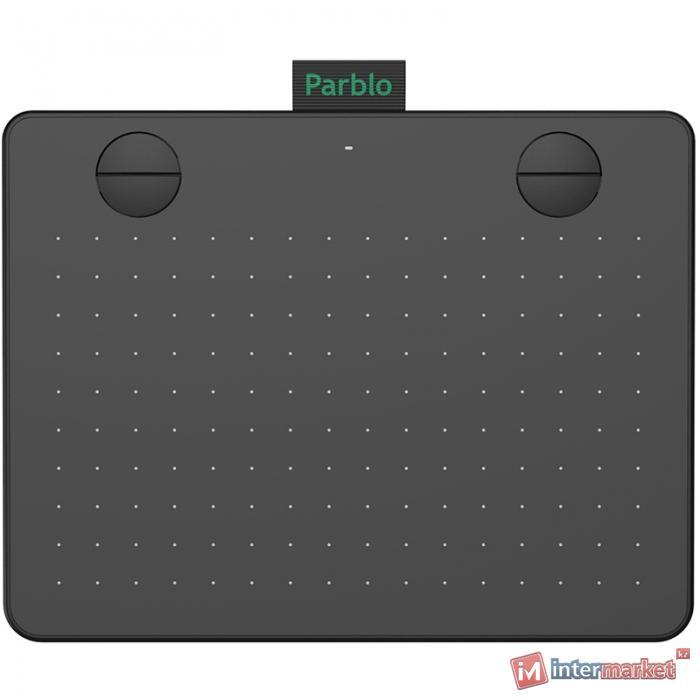 Графический планшет Parblo A640 V2, черный