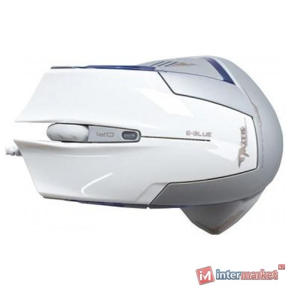 Мышь e-blue Cobra Mazer Type-R (EMS124WH) White USB