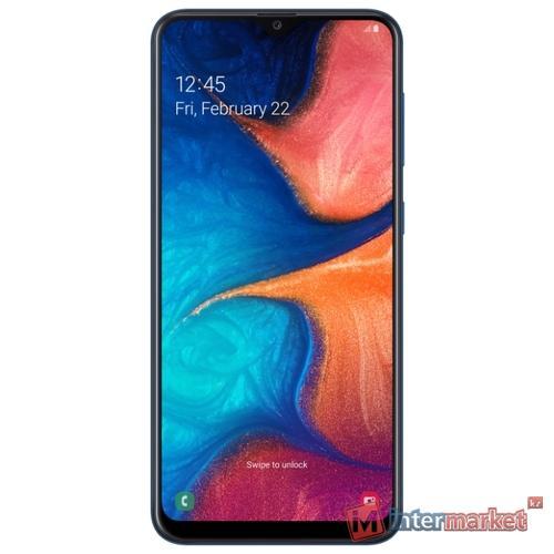 Смартфон Samsung Galaxy A20 Blue
