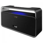 Портативная акустика SVEN PS-185, черный, мощность 2x5 Вт (RMS), Bluetooth, USB, LED-дисплей, часы, будильник /